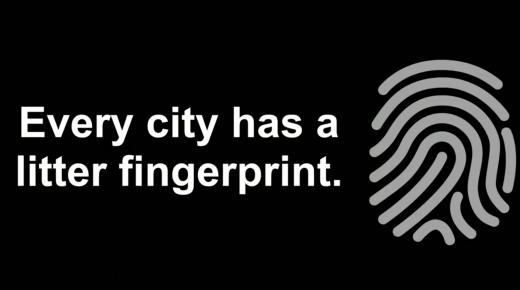 Every city has a litter fingerprint